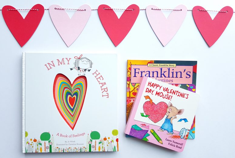 Valentines Books to read with preschoolers