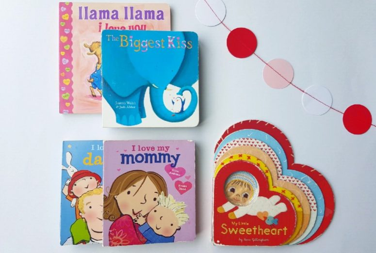 Valentines books for Babies