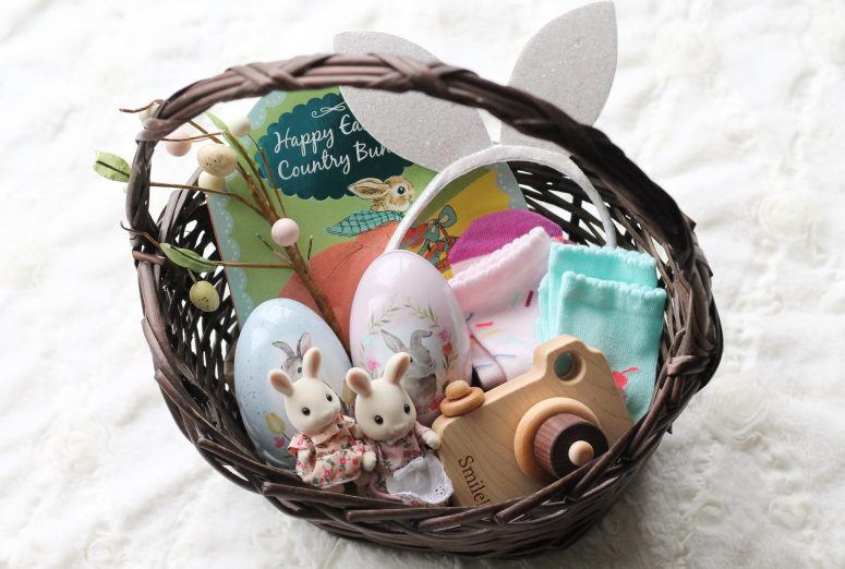 Easter basket inspiration for kids