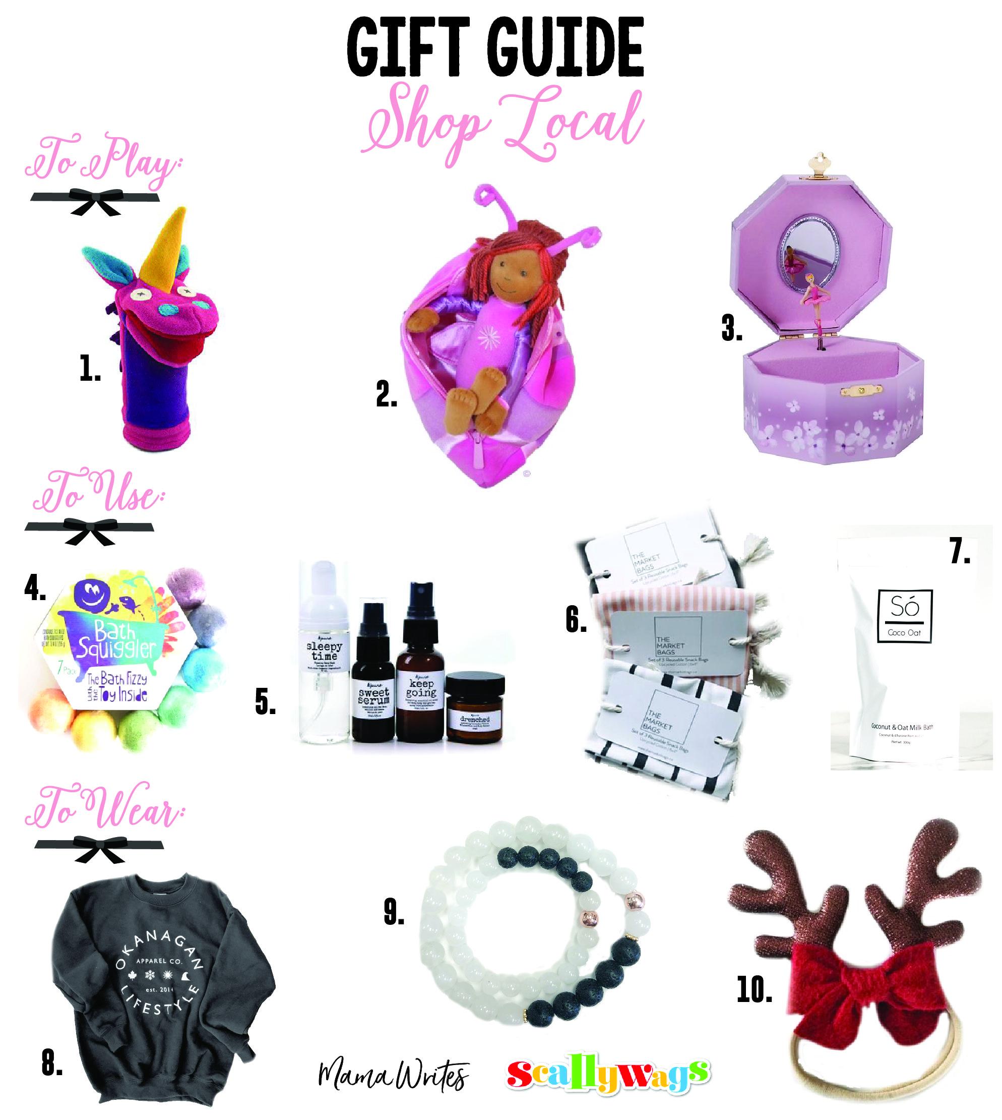 Kelowna Shop Local Gift Guide