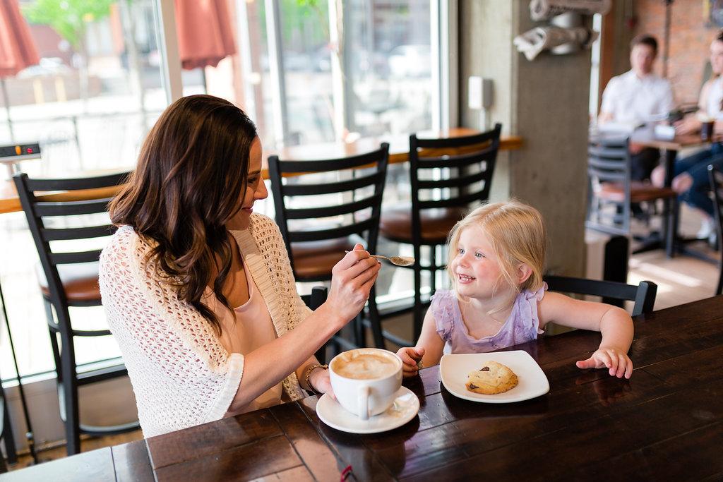 Kelowna Coffee Shops with Kids