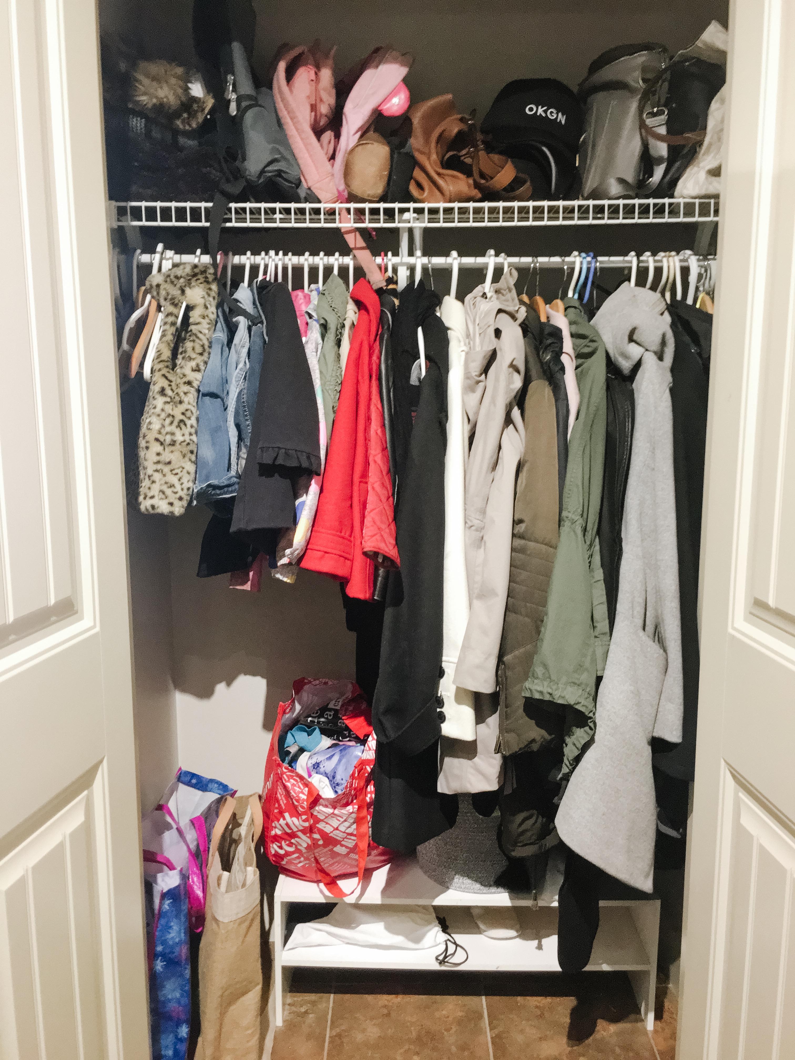 Coat Closet Before