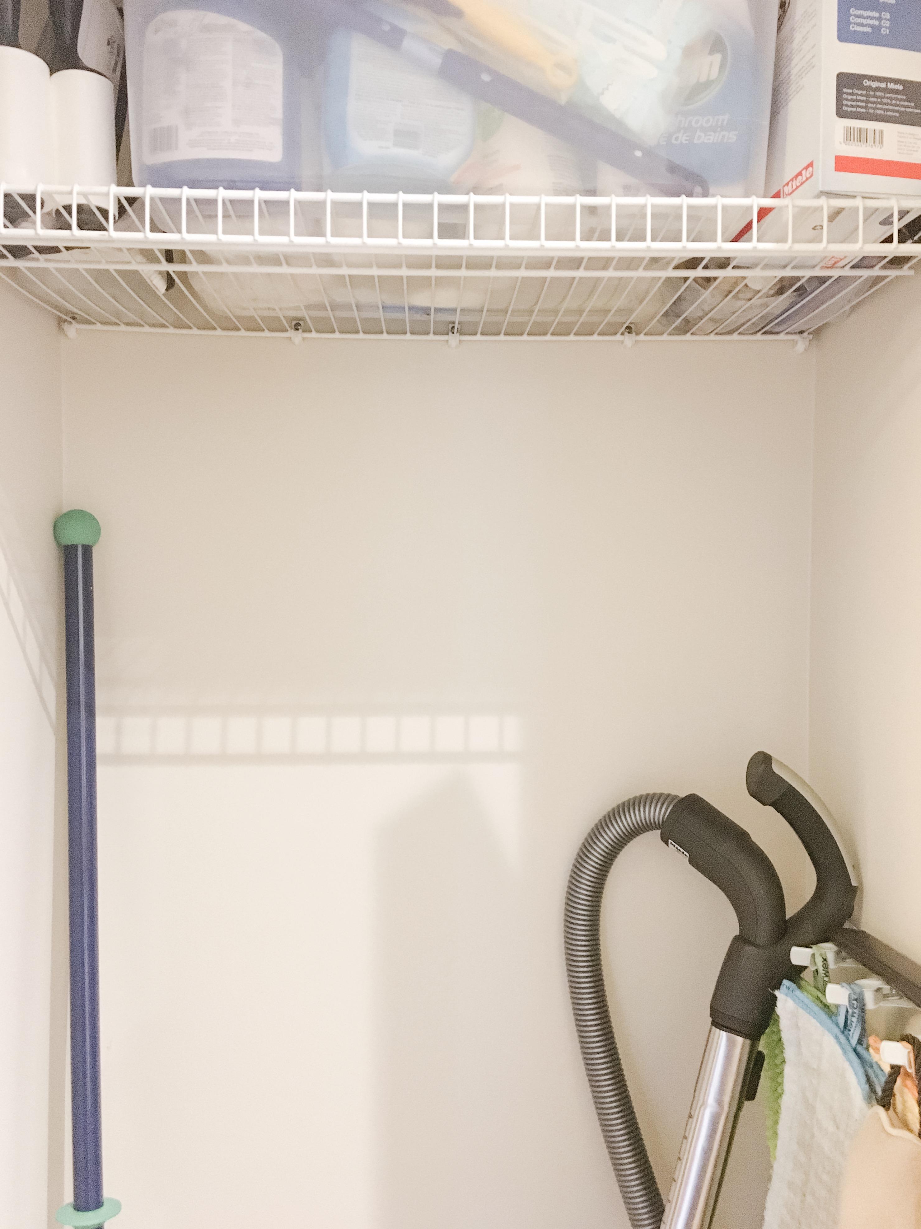 Utility Closet Before