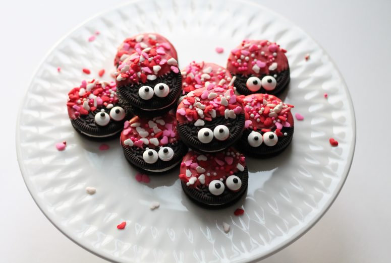 Valentines Love Bug Snacks
